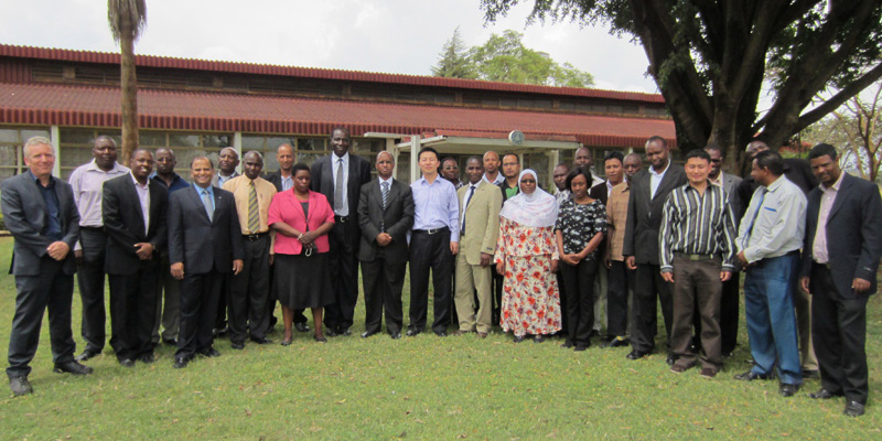 Opening Ceremony of the Workshop in Kenya by Dr. Xianwu Xue
